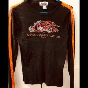 Tops - Ladies motorcycle shirt